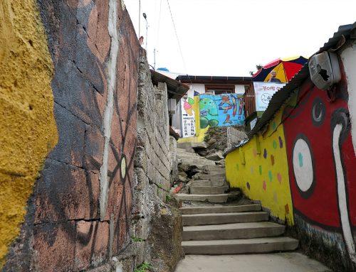통영 동피랑 벽화마을, 강구안 그리고 중앙시장