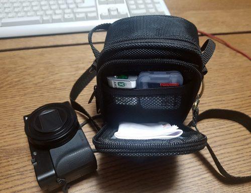 소니RX100이나 캐논Power shot 컴팩트카메라에 딱 맞는 미니파우치